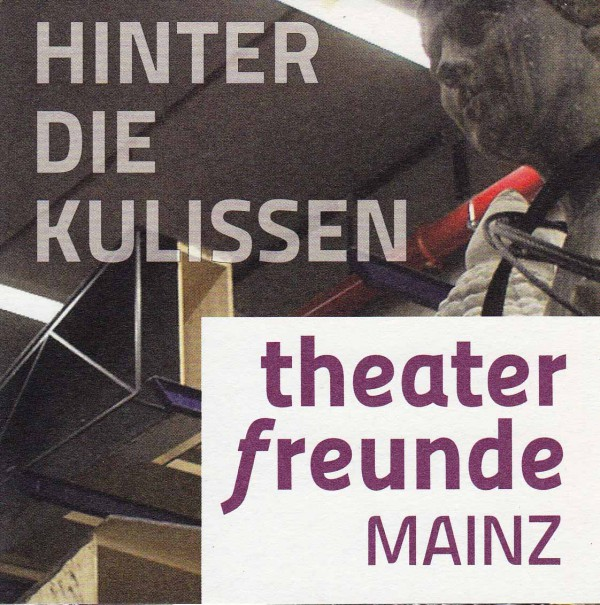 Flyer der Theaterfreunde Mainz