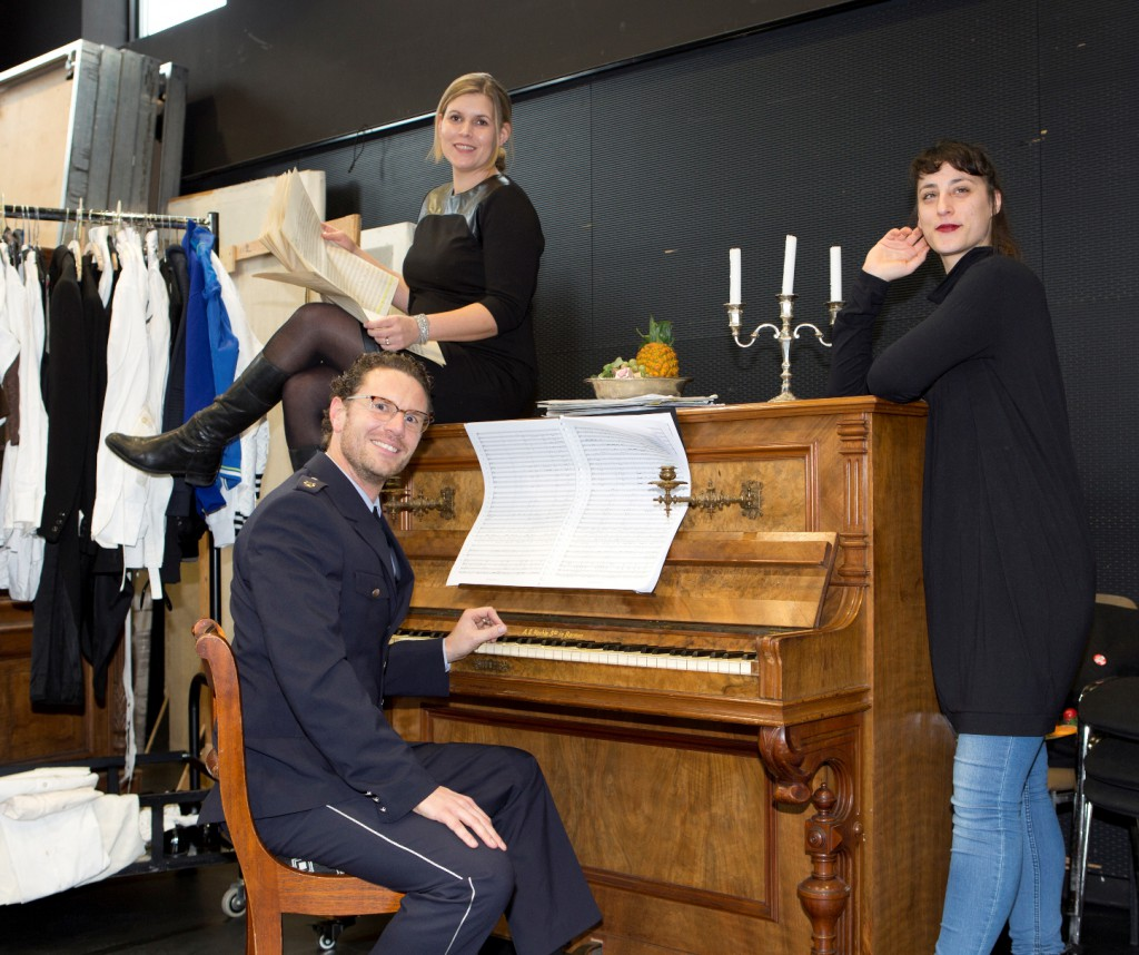 Linda Sommerhage, Stefan Grefig, Gili Goverman_- Foto: Martina Pipprich