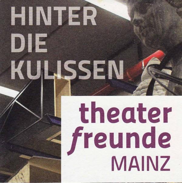Flyer der Theaterfreunde Mainz